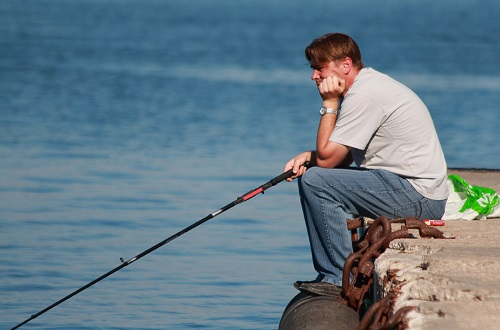 на рыбалке рыба не клевала